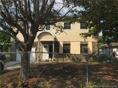 Fort Lauderdale Single Family Home For Sale: 2541 NW 14th Ct