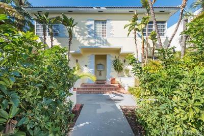 Miami Beach Multi Family Home For Sale: 726 Jefferson Ave