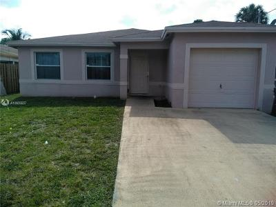 Dania Beach Single Family Home For Sale: 31 NW 6th Ave