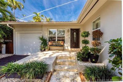 Coral Gables Single Family Home For Sale: 407 Perugia Ave