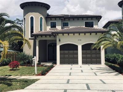 Miami FL Single Family Home For Sale: $1,050,000