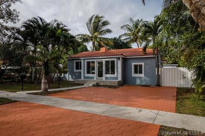 Miami Shores Single Family Home For Sale: 9426 NW 2nd Pl