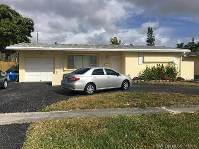Sunrise Single Family Home For Sale: 8417 NW 26th St