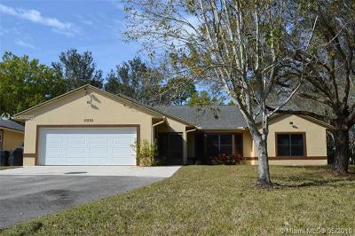 Jupiter Single Family Home For Sale: 17233 131st Ter N