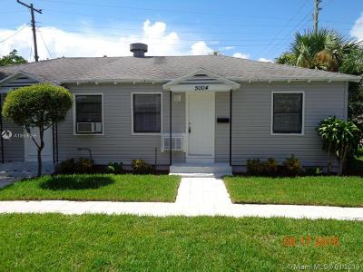 West Palm Beach Multi Family Home For Sale: 5000 Webster Ave
