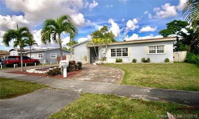 Miami Gardens Single Family Home For Sale: 1371 NW 198th St