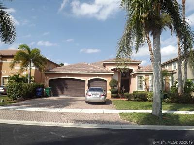 Miramar Single Family Home For Sale: 18933 SW 33rd Ct