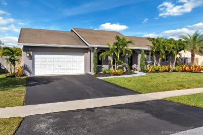 Sunrise Single Family Home Sold: 10641 NW 20th Ct