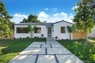 El Portal Single Family Home Active With Contract: 140 NW 89th St