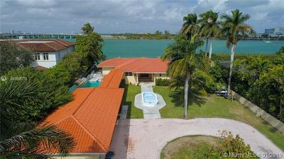 Miami Beach Single Family Home For Sale: 1615 N View Dr