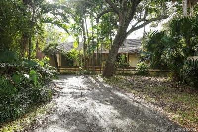 Palmetto Bay Single Family Home For Auction: 7300 SW 167th St