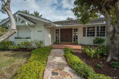 Palmetto Bay Single Family Home Sold: 14435 SW 84 Ct