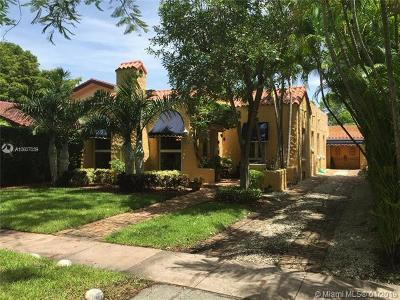 Coral Gables Single Family Home For Sale: 645 Minorca Ave