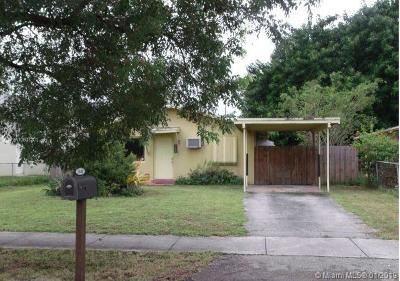 Fort Lauderdale Single Family Home For Sale: 3040 NW 10th Ct