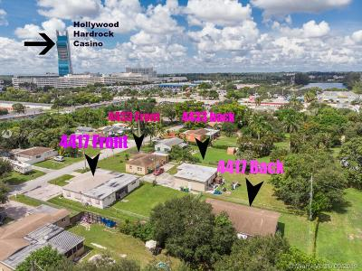 Dania Beach Multi Family Home For Sale: 4433 SW 52nd St