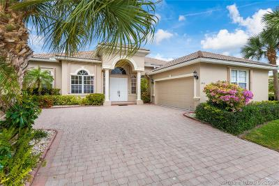 Delray Beach Single Family Home Active With Contract: 7453 Viale Michelangelo