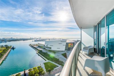 Marina Blue, Marina Blue Condo, Marina Blue Condominium, Marinablue, Marinablue Condo Rental For Rent: 888 Biscayne Blvd #1710