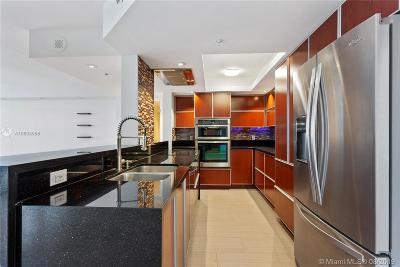Miami Beach Condo For Sale: 1800 Sunset Harbour Dr #1807