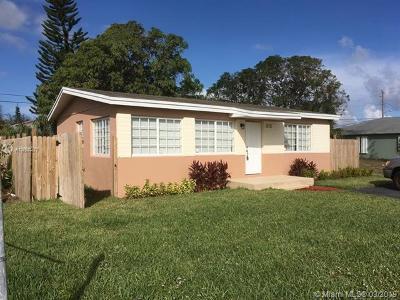 Boynton Beach Single Family Home For Sale: 515 NW 11th Ave