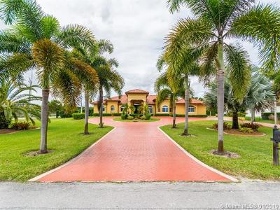 Miramar Single Family Home For Sale: 4080 SW 141st Ave