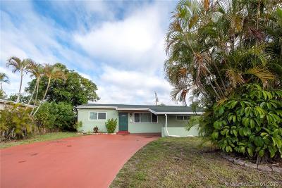 Miramar Single Family Home For Sale: 7501 Juniper St