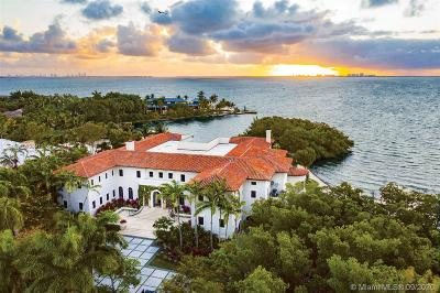 Coral Gables Single Family Home For Sale: 4 Tahiti Beach Island Rd