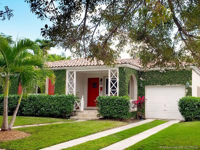 Coral Gables Single Family Home For Sale: 506 Almeria Ave