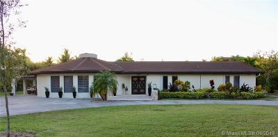 Single Family Home Sold: 11750 SW 95th Ave