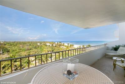 Key Biscayne Condo For Sale: 177 Ocean Lane Dr #702