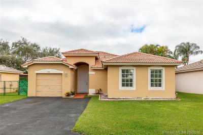 Miramar Single Family Home Active With Contract: 1860 SW 120th Ter