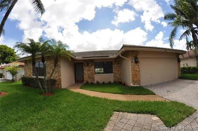 Coral Springs Single Family Home For Sale: 633 NW 113th Ter