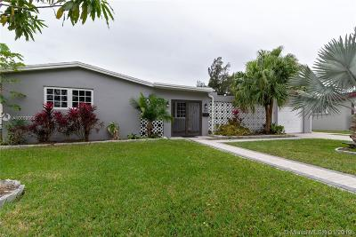 North Miami Single Family Home For Sale: 480 NE 142nd St