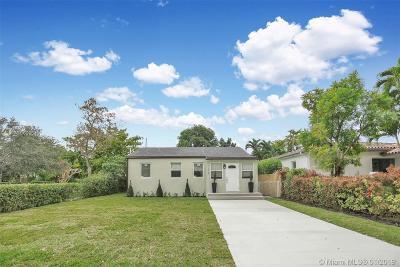 Miami Springs Single Family Home For Sale: 100 Truxton Dr
