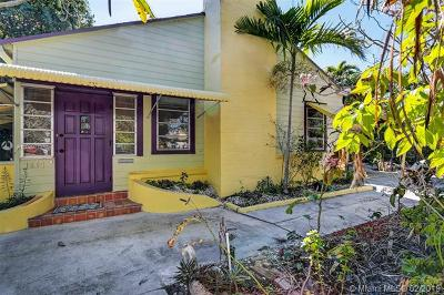 Hollywood Single Family Home For Sale: 1504 Washington St