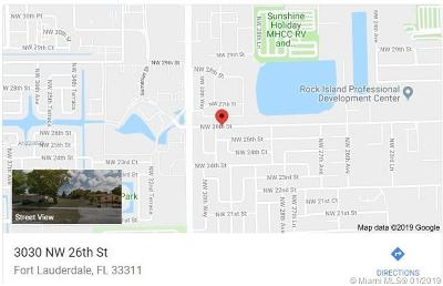 Broward County Residential Lots & Land For Sale: 3030 NW 26th St