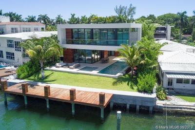 Miami Beach FL Single Family Home For Sale: $12,500,000