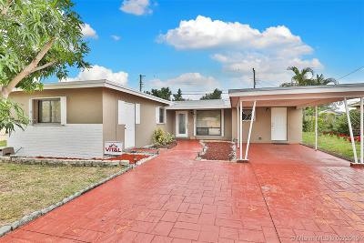West Park Single Family Home Sold: 4120 SW 33rd Dr