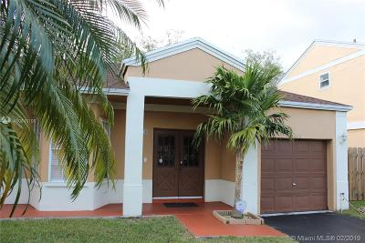 Cutler Bay Single Family Home For Sale: 9968 SW 222nd Ter