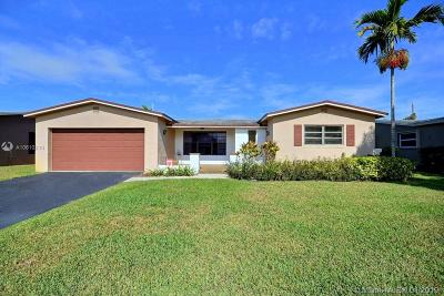 Cooper City Single Family Home Active With Contract: 9121 SW 56th St