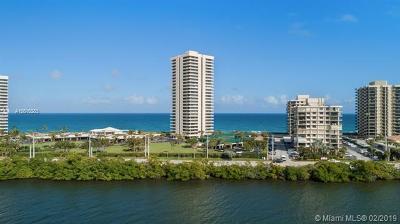 Riviera Beach Condo For Sale: 5510 N Ocean Drive #10B