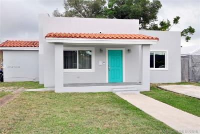 Miami Single Family Home Active With Contract: 2829 SW 35th Ave