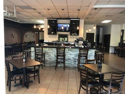 Kendall Business Opportunity For Sale: Restaurant