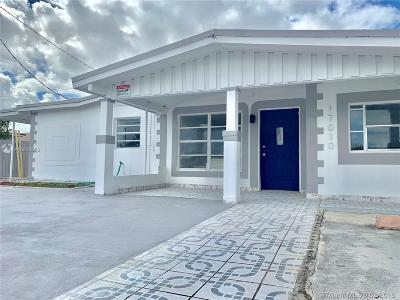 Miami Gardens Single Family Home For Sale: 17010 NW 54th Ct