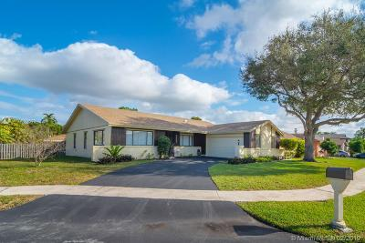 Sunrise Single Family Home Active With Contract: 9331 NW 32nd St
