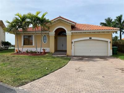 Cutler Bay Single Family Home For Sale: 18852 SW 77th Ct