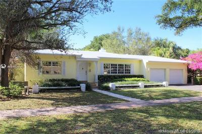 Coral Gables Single Family Home For Sale: 1418 Mantua Ave
