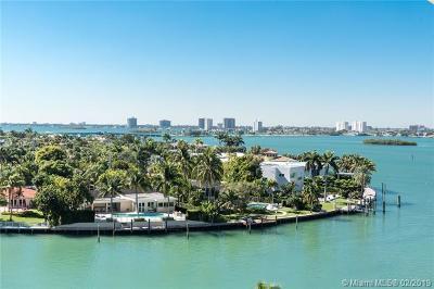 Bay Harbor Islands Condo For Sale: 10350 W Bay Harbor Dr #8M