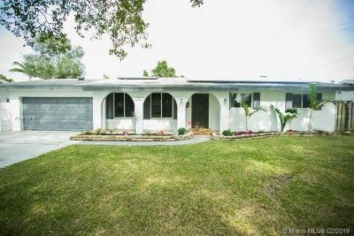 Plantation Single Family Home For Sale: 7401 NW 13th Ct
