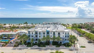 Lauderdale By The Sea Condo For Sale: 4511 El Mar Dr #203