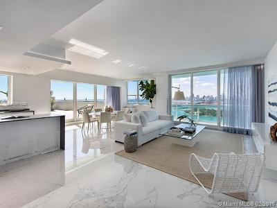 Miami Beach Condo For Sale: 650 West Ave #PH01